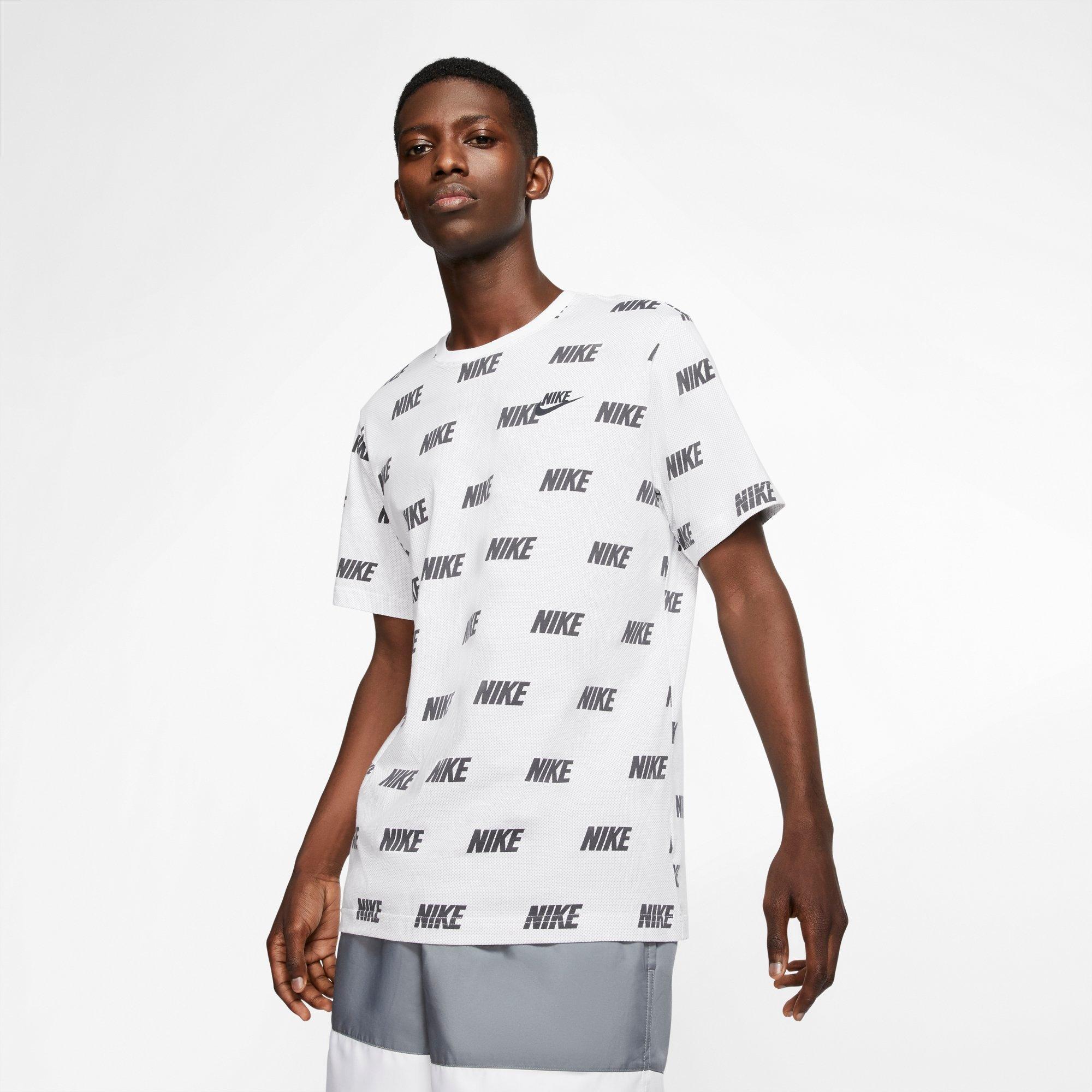 mit Allover-Grafik ED9282 adidas ON THE RUN SHORT SLEEVE TEE MEN