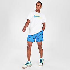 Men's Nike Sportswear Allover Print Woven Shorts