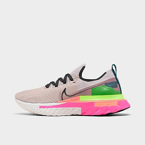 Nike NIKE WOMEN'S REACT INFINITY RUN FLYKNIT PREMIUM RUNNING SHOES