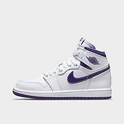 Little Kids' Air Jordan Retro 1 High OG Casual Shoes