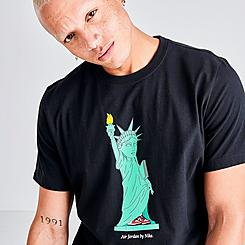 Men's Jordan Character City New York T-Shirt