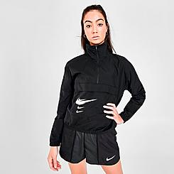 Women's Nike SWOOSH Run Half-Zip Jacket