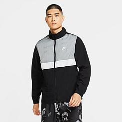 Men's Nike Sportswear Colorblock Woven Track Jacket