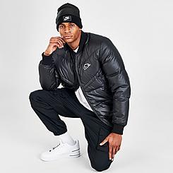 Men's Nike Sportswear Down-Fill Windrunner Sport Bomber Jacket