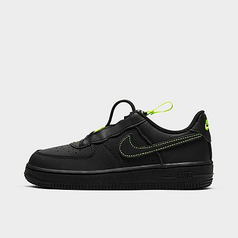 Nike NIKE LITTLE KIDS' AIR FORCE 1 TOGGLE CASUAL SHOES