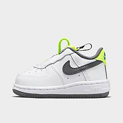 Kids' Toddler Nike Air Force 1 Toggle Casual Shoes