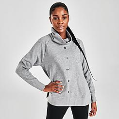 Women's Nike Fleece Cowl Neck Top