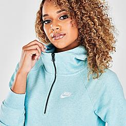 Women's Nike Sportswear Essential Quarter-Zip Hoodie