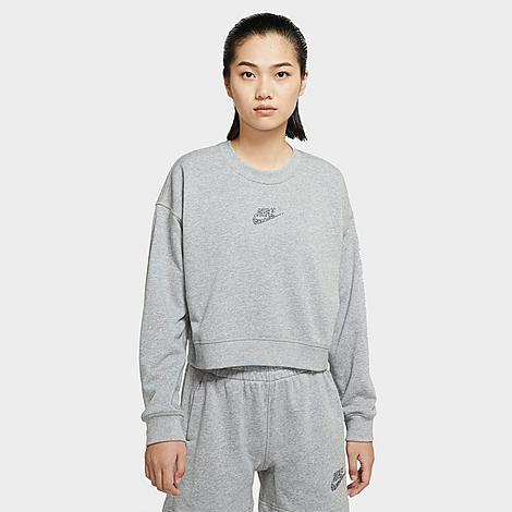Nike Sportswear Crewneck Sweatshirt In Grey