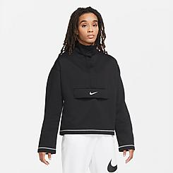 Women's Nike Sportswear SWOOSH Quarter-Snap Top