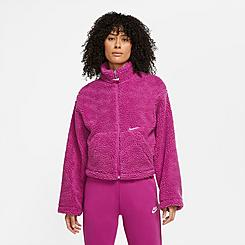Women's Nike Sportswear Sherpa Fleece Full-Zip Jacket
