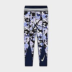 Girls' Nike One Floral Training Leggings