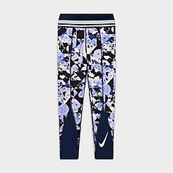 Girls' Nike One Floral Training Leggings