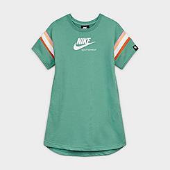 Girls' Nike Sportswear Short-Sleeve Heritage Dress