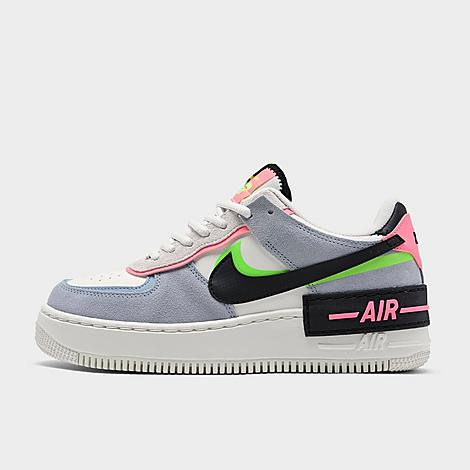 Nike NIKE WOMEN'S AIR FORCE 1 SHADOW SE CASUAL SHOES SIZE 9.5 LEATHER/SUEDE