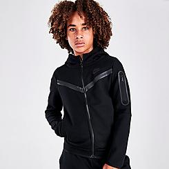 Kids' Nike Sportswear Tech Fleece Full-Zip Hoodie