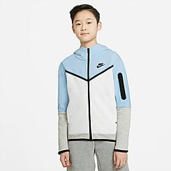 Kids' Nike Sportswear Tech Fleece Full-Zip Hoodie