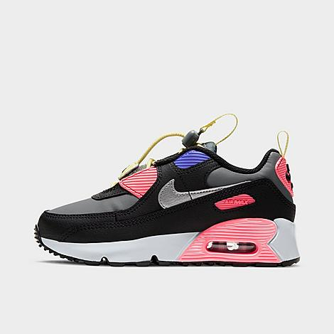 Nike NIKE LITTLE KIDS' AIR MAX 90 TOGGLE CASUAL SHOES