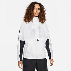 Men's Jordan Jumpman Classics Box Logo Windbreaker Jacket