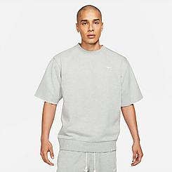 Men's Nike Dri-FIT Standard Issue Short-Sleeve Crewneck Sweatshirt