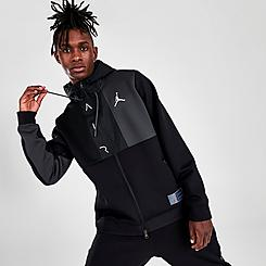 Men's Jordan Air Fleece Full-Zip Hoodie