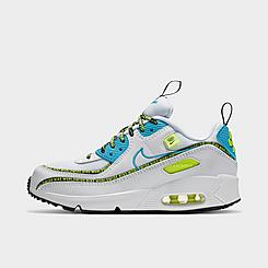 Little Kids' Nike Air Max 90 SE Worldwide Casual Shoes