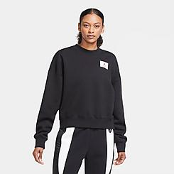 Women's Jordan Flight Fleece Crew Top