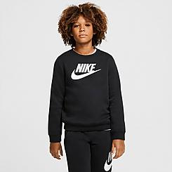 Boys' Nike Sportswear Club Fleece Crewneck Sweatshirt