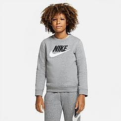 Kids' Nike Sportswear Club Fleece Crewneck Sweatshirt