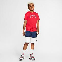 Boys' Nike Sportswear Colorblock Woven Swim Shorts