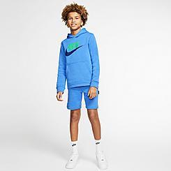 Kids' Nike Sportswear Double Swoosh Shorts