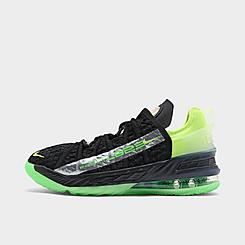 Big Kids' Nike LeBron 18 SE Basketball Shoes