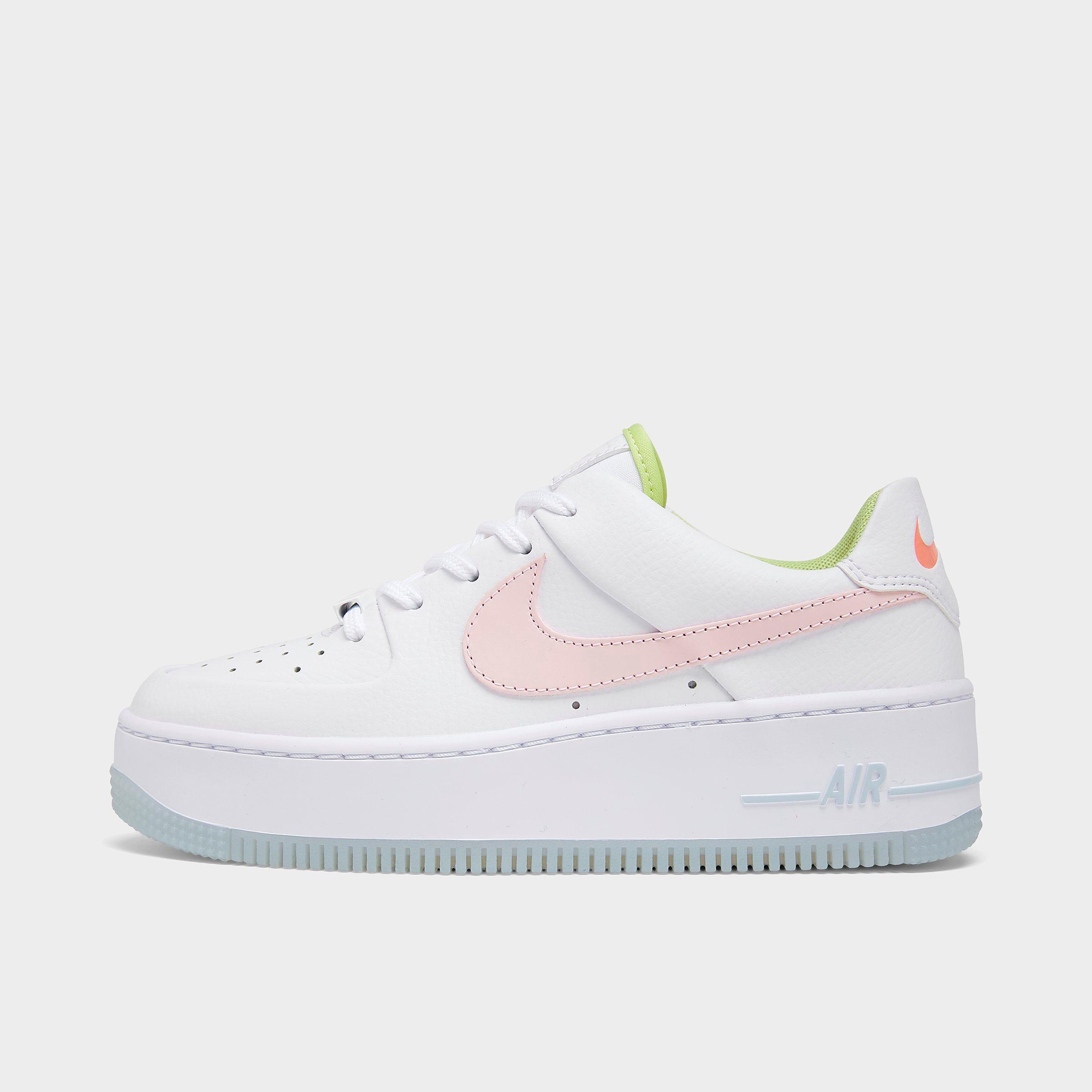Women's Nike Air Force 1 Sage Low One of One Casual Shoes ...
