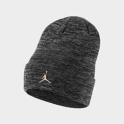 Jordan Jumpman Metal Cuffed Beanie Hat