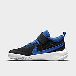 Little Kids' Nike Team Hustle D 10 Basketball Shoes
