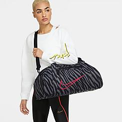 Women's Nike Gym Club Printed Training Duffel Bag