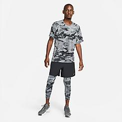 Men's Nike Pro Three-Quarter Camo Leggings