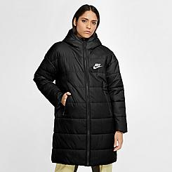 Women's Nike Sportswear Synthetic-Fill Down Parka Long Jacket