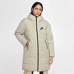 Women's Nike Sportswear Synthetic-Fill Down Parka Long Jacket
