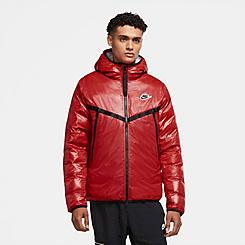 Men's Nike Sportswear Synthetic-Fill Marble Windrunner Jacket