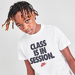 Kids' Nike Sportswear Class Is In Session T-Shirt