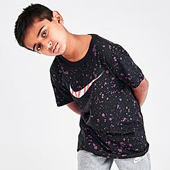 Boys' Nike Sportswear Allover Splattered Print T-Shirt