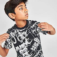 Boys' Nike Graffiti All-Over Print T-Shirt