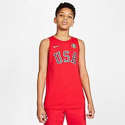 Kids' Nike Olympic USA Graphic Tank Top
