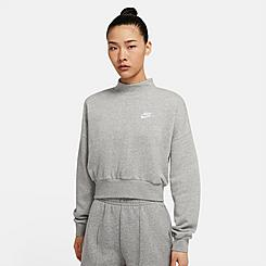 Women's Nike Sportswear Essential Fleece Mock Neck Sweatshirt