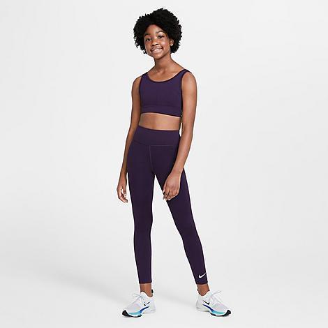 Nike NIKE GIRLS' ONE TRAINING LEGGINGS