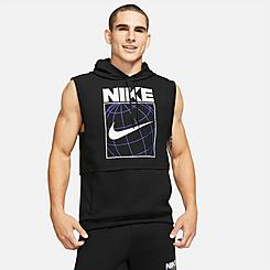 Men's Nike Dri-FIT Graphic Sleeveless Training Hoodie