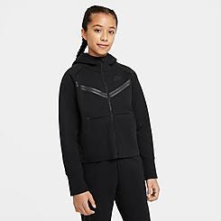 Girls' Nike Sportswear Tech Fleece Full-Zip Hoodie