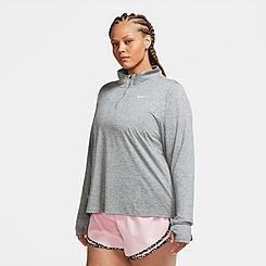Women's Nike Element Dri-FIT Half-Zip Running Top (Plus Size)