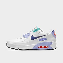 Girls' Big Kids' Nike Air Max 90 SE 2 Casual Shoes